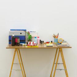Maxime Thieffine (Série «portraits / tables»), 2014
