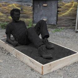 Portrait de l'artiste en travailleur au repos