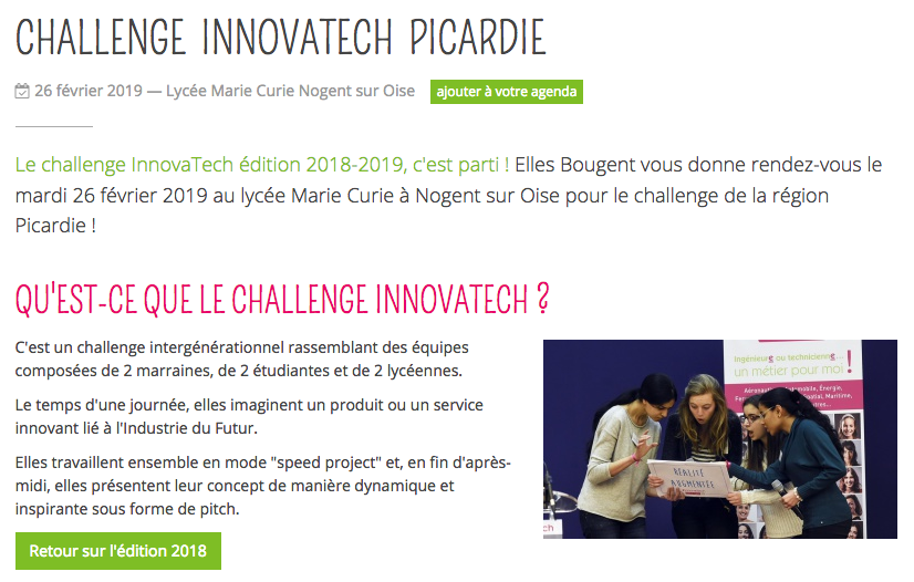 Le Challenge Innovatech Picardie