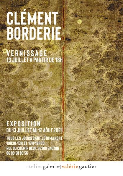 Exposition de Clément Borderie à la Galerie Valérie Gautier à Belle-Île-en -Mer, Sauzon